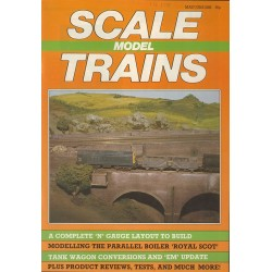 Scale Model Trains 1985 May/June