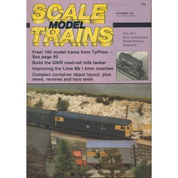 Scale Model Trains 1985 November