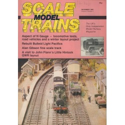 Scale Model Trains 1985 December