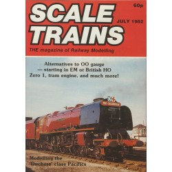 Scale Trains 1982 July