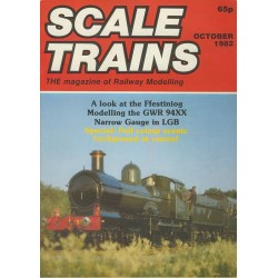 Scale Trains 1982 October