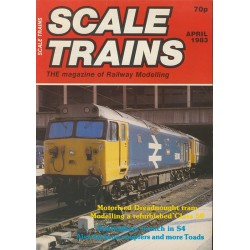 Scale Trains 1983 April