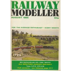 Railway Modeller 1985 August