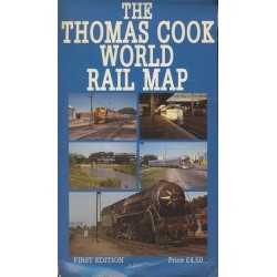 Thomas Cook World Rail Map