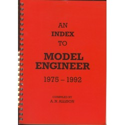 Index to Model Engineer 1975-1992