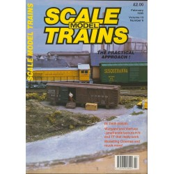 Scale Model Trains 1995 February