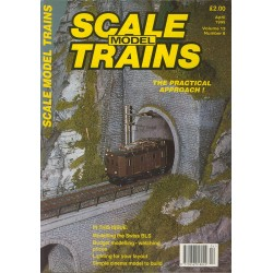 Scale Model Trains 1995 April