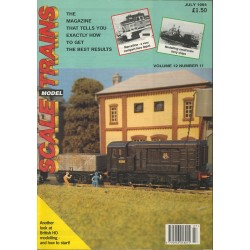 Scale Model Trains 1994 July