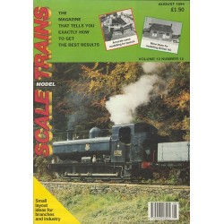 Scale Model Trains 1994 August