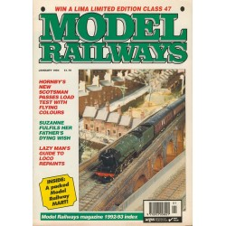 Model Railways 1994 January