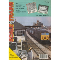 Scale Model Trains 1993 July