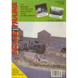 Scale Model Trains 1993 August