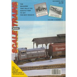 Scale Model Trains 1993 December