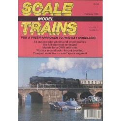 Scale Model Trains 1992 February