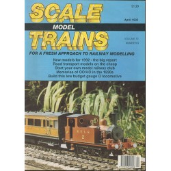 Scale Model Trains 1992 April