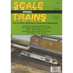 Scale Model Trains 1992 July