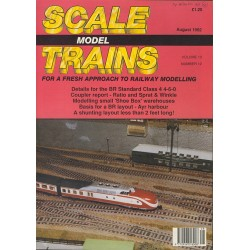 Scale Model Trains 1992 August