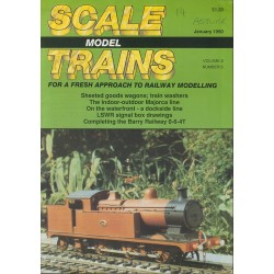 Scale Model Trains 1990 January