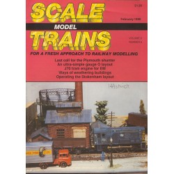 Scale Model Trains 1990 February