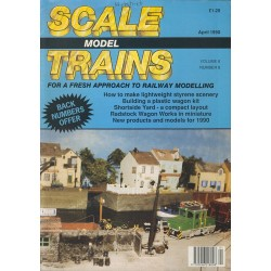 Scale Model Trains 1990 April