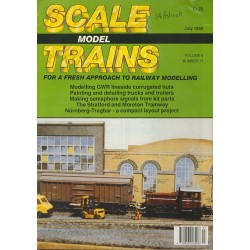 Scale Model Trains 1990 July