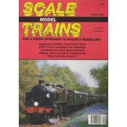 Scale Model Trains 1990 August
