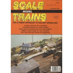 Scale Model Trains 1990 December