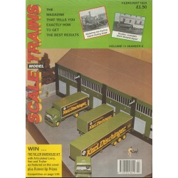 Scale Model Trains 1993 February