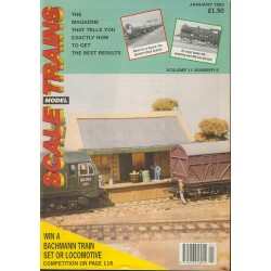 Scale Model Trains 1993 January