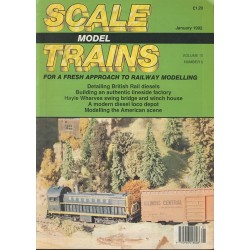 Scale Model Trains 1992 January
