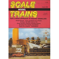 Scale Model Trains 1989 August