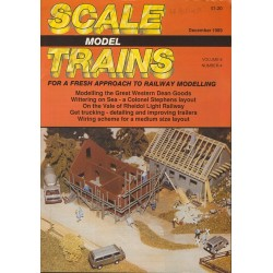 Scale Model Trains 1989 December