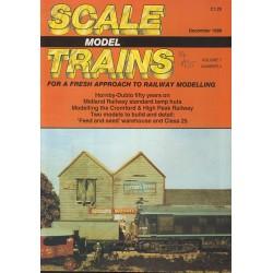 Scale Model Trains 1988 December