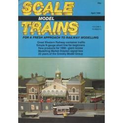 Scale Model Trains 1988 April