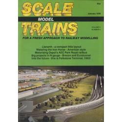 Scale Model Trains 1988 January
