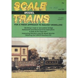 Scale Model Trains 1988 July