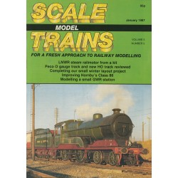 Scale Model Trains 1987 January