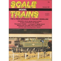Scale Model Trains 1987 February
