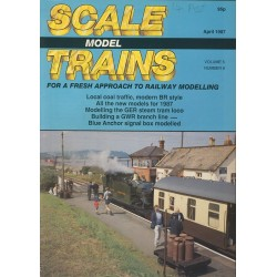 Scale Model Trains 1987 April