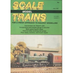 Scale Model Trains 1987 July