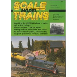 Scale Model Trains 1986 January