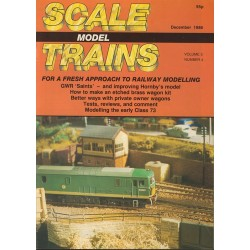 Scale Model Trains 1986 December