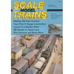 Scale Model Trains 1985 October