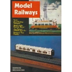 Model Railways 1973 July