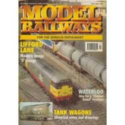 Model Railways 1991 July