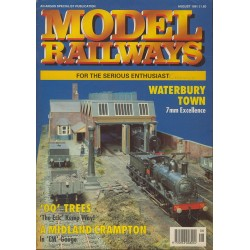 Model Railways 1991 August