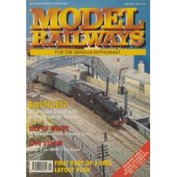 Model Railways 1991 January