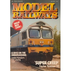 Model Railways 1987 July