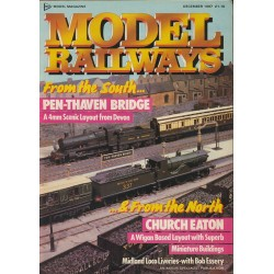 Model Railways 1987 December