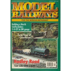 Model Railways 1992 August